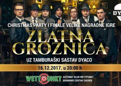 Zlatna groznica – 16. prosinca 2017.