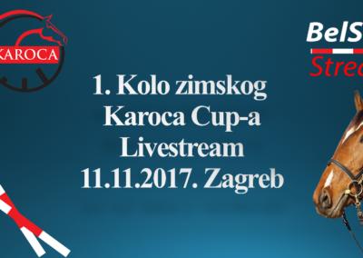 I. kolo Karoca Zimskog Cup-a 2017. (Zagreb, 11.11.2017.)